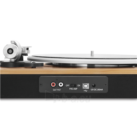 Patefonas Marley Stir It Up Turntable, RCA, Signature Black Paveikslėlis 2 iš 7 310820223291