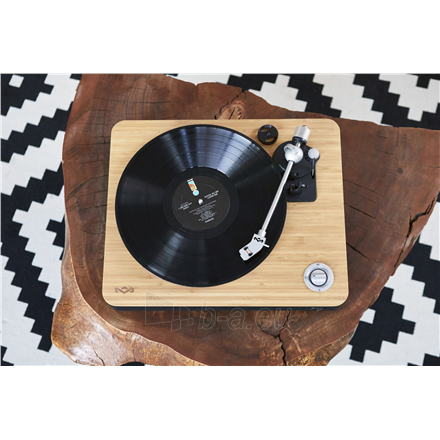 Patefonas Marley Stir It Up Turntable, RCA, Signature Black Paveikslėlis 5 iš 7 310820223291