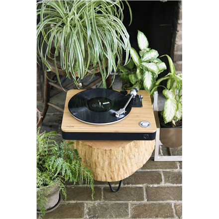 Patefonas Marley Stir It Up Turntable, RCA, Signature Black Paveikslėlis 6 iš 7 310820223291