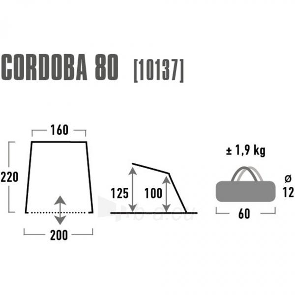Pavėsinė High Peak Cordoba 80 10137 Paveikslėlis 3 iš 3 310820216449
