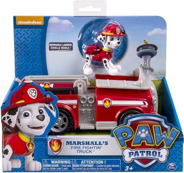 PAW Patrol 6026052 Marshall Fire Engine and Figure Spin Master Paveikslėlis 1 iš 6 310820252858