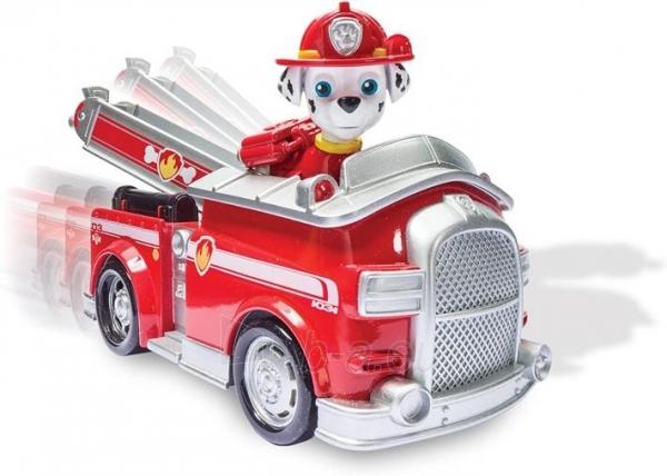 PAW Patrol 6026052 Marshall Fire Engine and Figure Spin Master Paveikslėlis 5 iš 6 310820252858