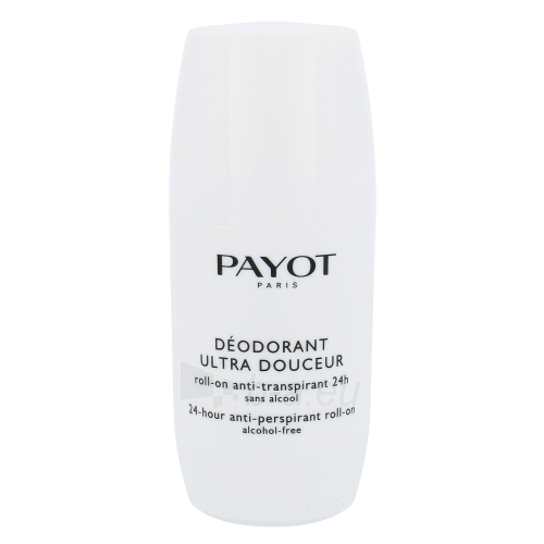 Payot Deodorant Ultra Douceur 24h Roll-On Cosmetic 75ml Paveikslėlis 1 iš 1 2508910001046