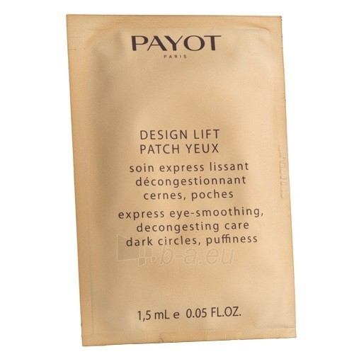 Payot Design Lift Patch Eye Care Cosmetic 30mlml Paveikslėlis 1 iš 1 250840800308