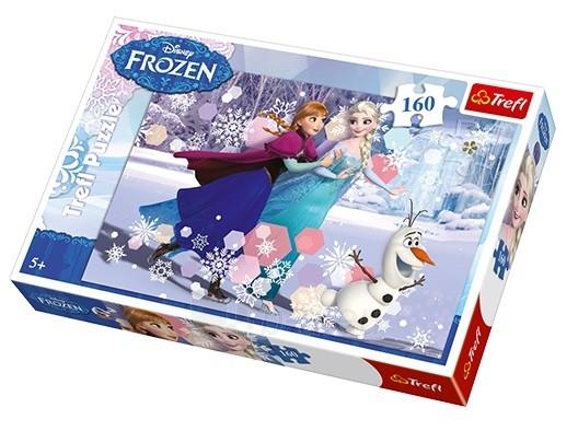 Пазл TREFL Frozen 160 det. 15317 Paveikslėlis 1 iš 2 310820047925