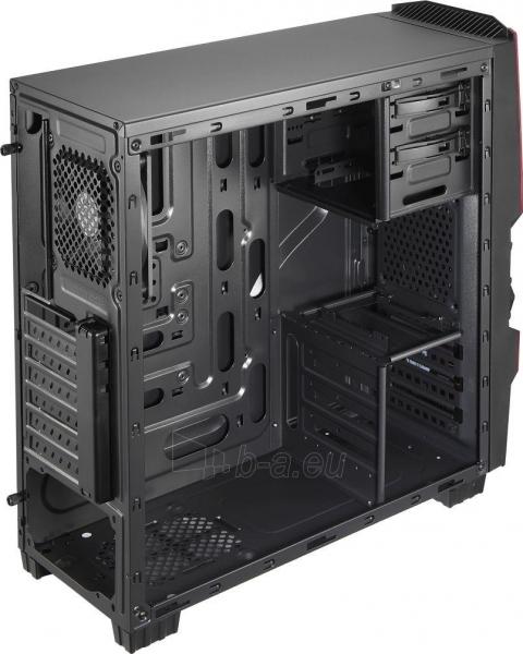 PC korpusas AeroCool ATX PGS CYCLOPS ADVANCE RED, USB3 Paveikslėlis 3 iš 8 310820067020