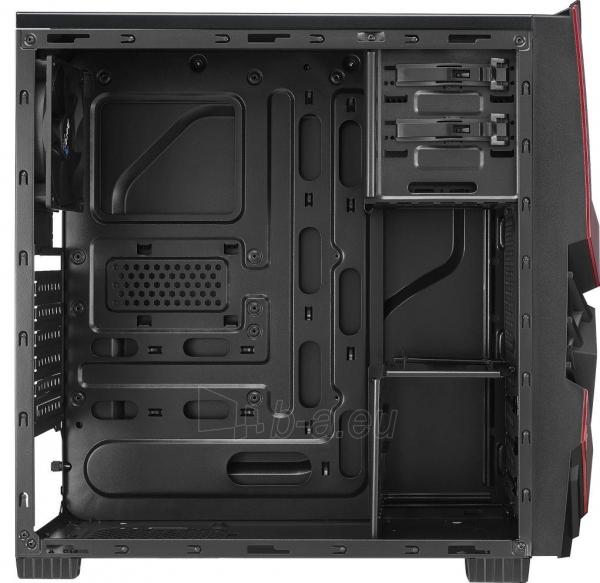 PC korpusas AeroCool ATX PGS CYCLOPS ADVANCE RED, USB3 Paveikslėlis 4 iš 8 310820067020