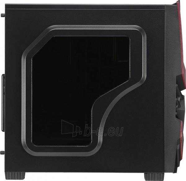 PC korpusas AeroCool ATX PGS CYCLOPS ADVANCE RED, USB3 Paveikslėlis 5 iš 8 310820067020