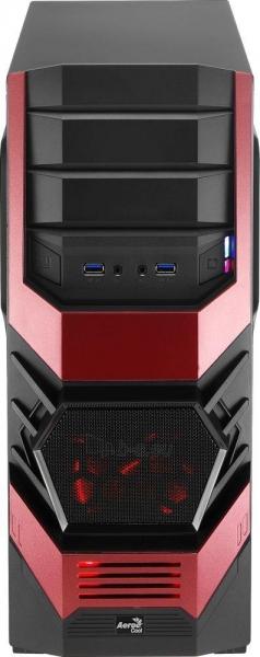 PC korpusas AeroCool ATX PGS CYCLOPS ADVANCE RED, USB3 Paveikslėlis 6 iš 8 310820067020