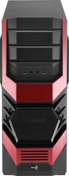 PC korpusas AeroCool ATX PGS CYCLOPS ADVANCE RED, USB3 Paveikslėlis 7 iš 8 310820067020