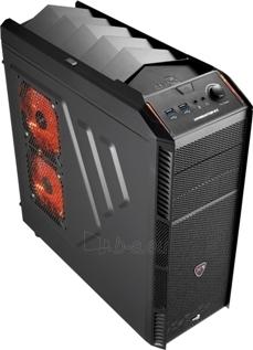PC korpusas AeroCool Ultimate gaming X-PREDATOR X1 Black, 2xUSB 3.0 Paveikslėlis 1 iš 8 250255900752