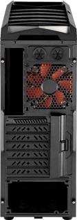 PC korpusas AeroCool Ultimate gaming X-PREDATOR X1 Black, 2xUSB 3.0 Paveikslėlis 5 iš 8 250255900752