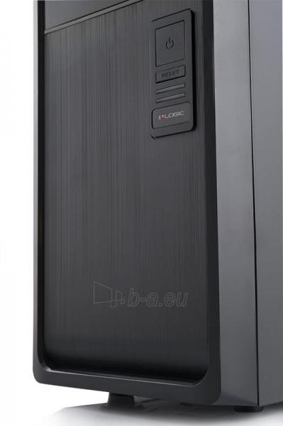 PC korpusas be PSU A35 Midi Tower,USB 3.0 x 1 / USB 2.0 x 2 , Juodas Paveikslėlis 3 iš 4 250255900756