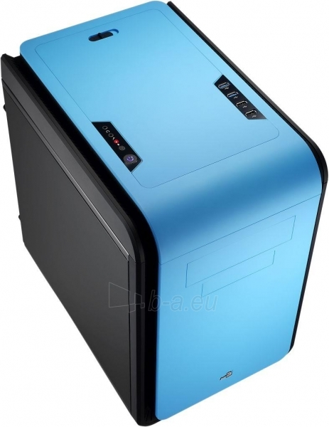 PC korpusas be PSU Aerocool DS CUBE BLUE Micro ATX , USB3.0 Paveikslėlis 1 iš 11 250255900761