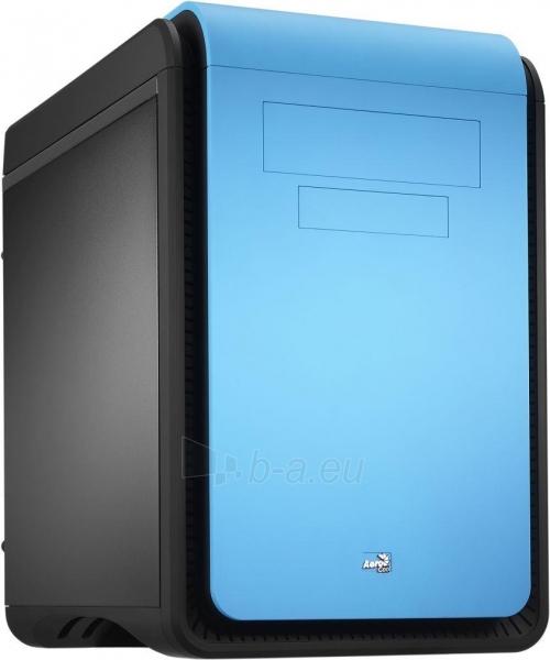 PC korpusas be PSU Aerocool DS CUBE BLUE Micro ATX , USB3.0 Paveikslėlis 10 iš 11 250255900761