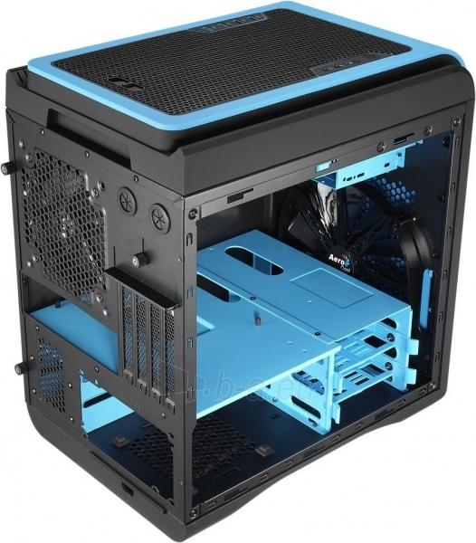 PC korpusas be PSU Aerocool DS CUBE BLUE Micro ATX , USB3.0 Paveikslėlis 8 iš 11 250255900761