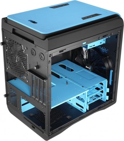 PC korpusas be PSU Aerocool DS CUBE BLUE Micro ATX , USB3.0 Paveikslėlis 7 iš 11 250255900761