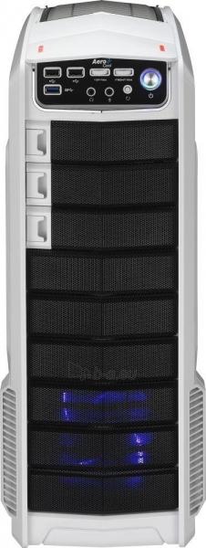 PC korpusas be PSU Aerocool GT-A WHITE ATX , USB3.0 Paveikslėlis 2 iš 7 250255900766