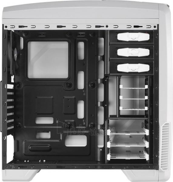 PC korpusas be PSU Aerocool GT-A WHITE ATX , USB3.0 Paveikslėlis 6 iš 7 250255900766