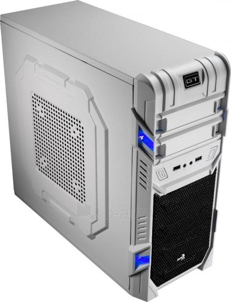 PC korpusas be PSU Aerocool GT ADVANCE WHITE, USB3.0, Beįrankinis surinkimas Paveikslėlis 1 iš 10 250255900764
