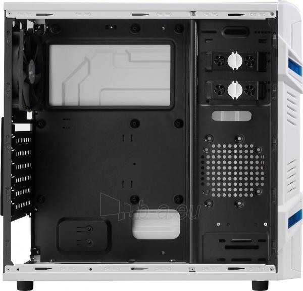 PC korpusas be PSU Aerocool GT ADVANCE WHITE, USB3.0, Beįrankinis surinkimas Paveikslėlis 8 iš 10 250255900764