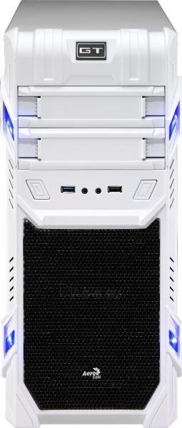 PC korpusas be PSU Aerocool GT ADVANCE WHITE, USB3.0, Beįrankinis surinkimas Paveikslėlis 6 iš 10 250255900764