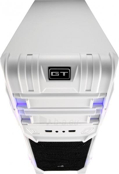 PC korpusas be PSU Aerocool GT ADVANCE WHITE, USB3.0, Beįrankinis surinkimas Paveikslėlis 4 iš 10 250255900764