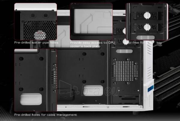 PC korpusas be PSU Aerocool GT ADVANCE WHITE, USB3.0, Beįrankinis surinkimas Paveikslėlis 10 iš 10 250255900764