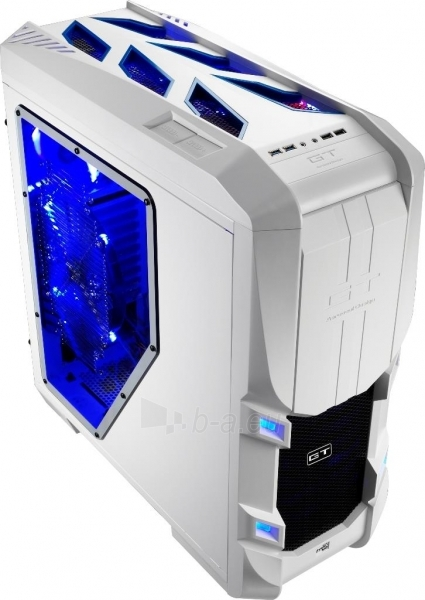 PC korpusas be PSU Aerocool GT-S White Edition, USB 3.0 Paveikslėlis 1 iš 12 250255900769