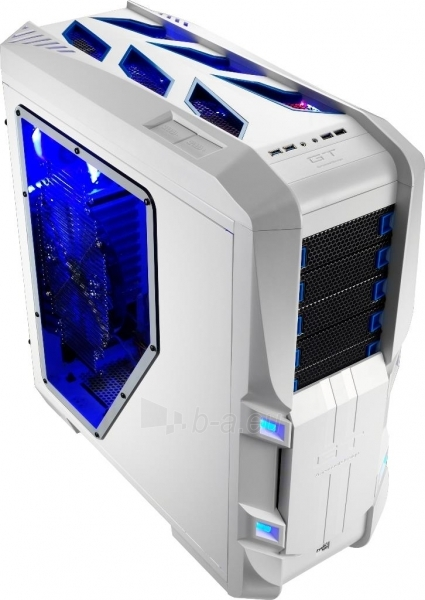 PC korpusas be PSU Aerocool GT-S White Edition, USB 3.0 Paveikslėlis 11 iš 12 250255900769