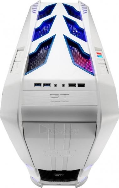 PC korpusas be PSU Aerocool GT-S White Edition, USB 3.0 Paveikslėlis 9 iš 12 250255900769