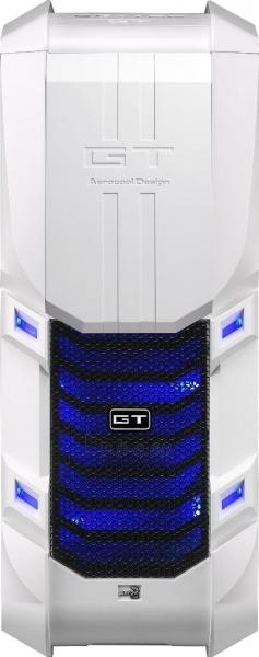 PC korpusas be PSU Aerocool GT-S White Edition, USB 3.0 Paveikslėlis 5 iš 12 250255900769