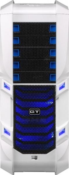 PC korpusas be PSU Aerocool GT-S White Edition, USB 3.0 Paveikslėlis 3 iš 12 250255900769