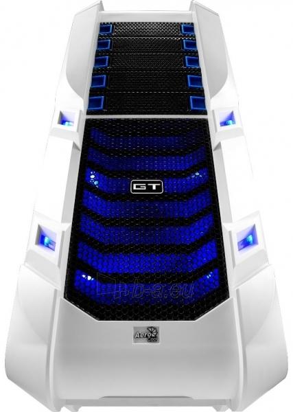 PC korpusas be PSU Aerocool GT-S White Edition, USB 3.0 Paveikslėlis 2 iš 12 250255900769