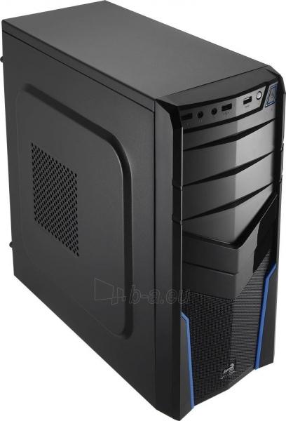 PC korpusas be PSU Aerocool PGS V2X BLACK / BLUE ATX , USB3.0 Paveikslėlis 1 iš 6 250255900770