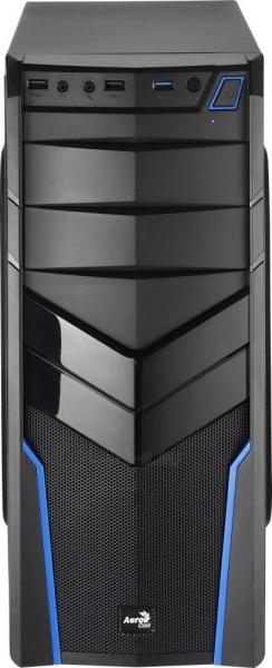 PC korpusas be PSU Aerocool PGS V2X BLACK / BLUE ATX , USB3.0 Paveikslėlis 2 iš 6 250255900770