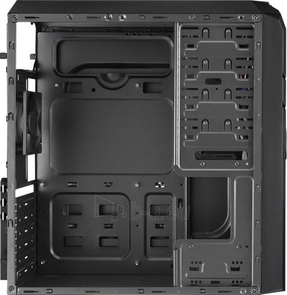 PC korpusas be PSU Aerocool PGS V2X BLACK / BLUE ATX , USB3.0 Paveikslėlis 5 iš 6 250255900770