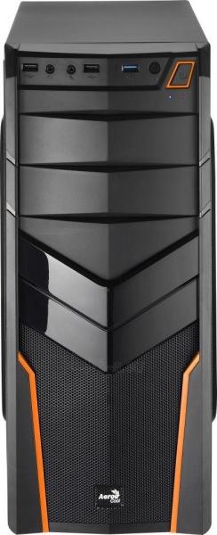 PC korpusas be PSU Aerocool PGS V2X BLACK / ORANGE ATX , USB3.0 Paveikslėlis 2 iš 6 250255900771