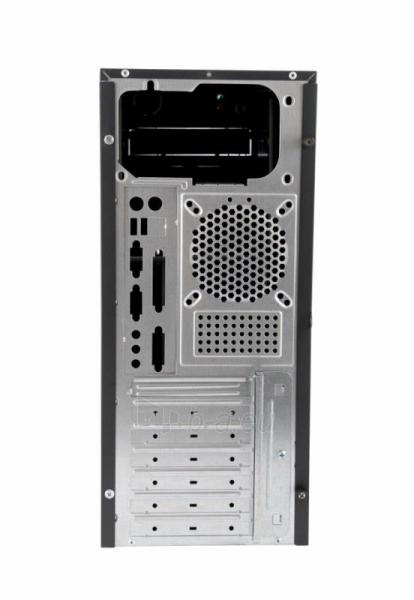 PC korpusas be PSU LOGIC A11 Midi Tower,USB 3.0, USB 2.0 ,  Juodas Paveikslėlis 3 iš 3 250255901036