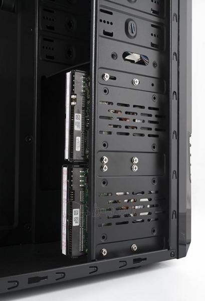 PC korpusas be PSU LOGIC A30 Midi Tower, Juodas Paveikslėlis 2 iš 3 250255901037