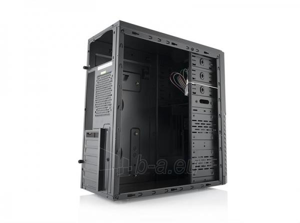 PC korpusas be PSU LOGIC A30 Midi Tower, Juodas Paveikslėlis 3 iš 3 250255901037