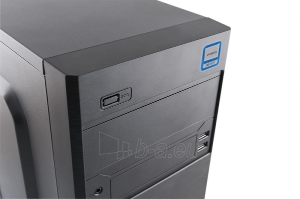 PC korpusas be PSU M4 Mini Tower, USB 3.0, USB 2.0, HD-AUDIO,  Juodas Paveikslėlis 3 iš 3 250255901039