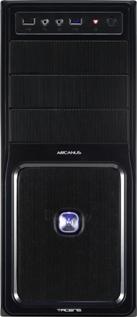 PC korpusas be PSU Tacens ATX ARCANUS PRO, USB 3.0 Juodas Paveikslėlis 2 iš 5 250255901041