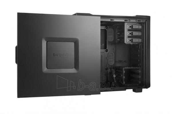 PC korpusas be quiet! Silent Base 600, juodas, ATX, micro-ATX, mini-ITX case Paveikslėlis 3 iš 5 310820015728