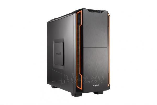 PC korpusas be quiet! Silent Base 600, oranžinis, ATX, micro-ATX, mini-ITX case Paveikslėlis 1 iš 5 310820015727