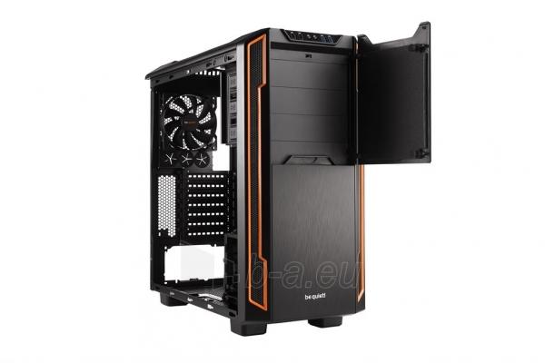PC korpusas be quiet! Silent Base 600, oranžinis, ATX, micro-ATX, mini-ITX case Paveikslėlis 2 iš 5 310820015727