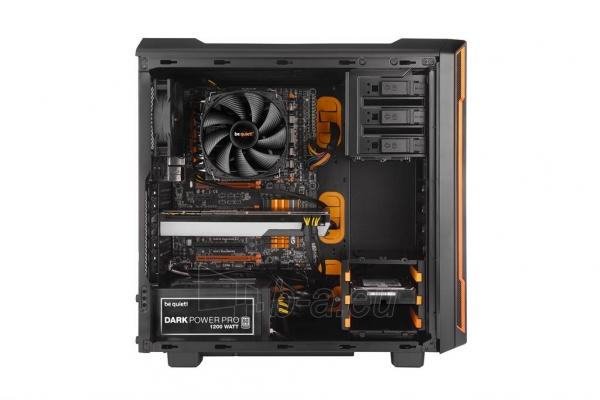 PC korpusas be quiet! Silent Base 600, oranžinis, ATX, micro-ATX, mini-ITX case Paveikslėlis 4 iš 5 310820015727