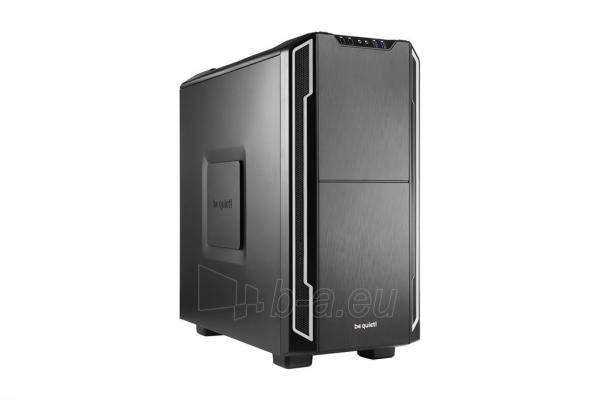 PC korpusas be quiet! Silent Base 600, sidabrinis, ATX, micro-ATX, mini-ITX case Paveikslėlis 1 iš 5 310820015729