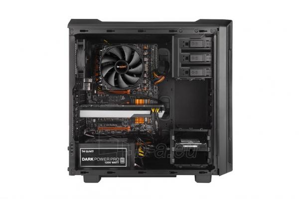 PC korpusas be quiet! Silent Base 600 window, juodas, ATX, micro-ATX, mini-ITX Paveikslėlis 4 iš 5 310820015731