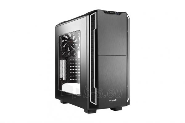 PC korpusas be quiet! Silent Base 600 window, sidabr., ATX, micro-ATX, mini-ITX Paveikslėlis 1 iš 5 310820015732